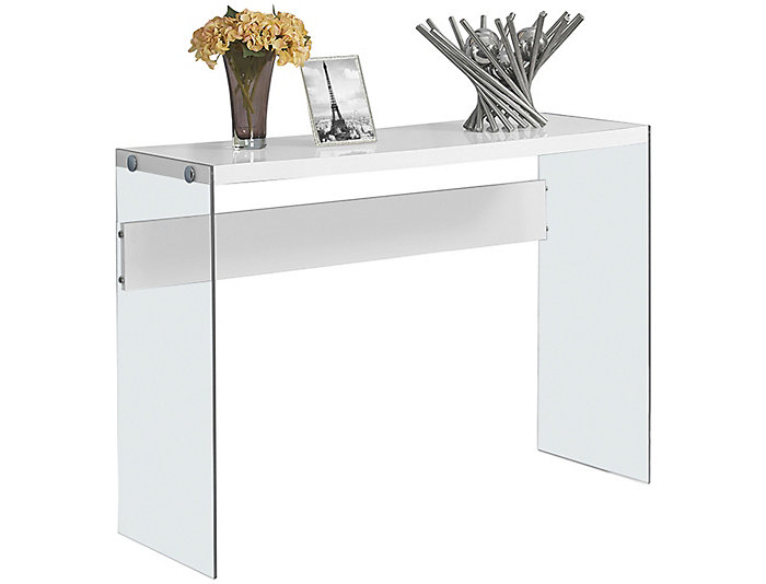 Lily White Console Table, , large