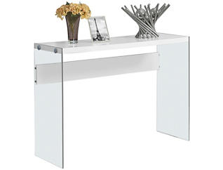 Lily Console Table, White, , large
