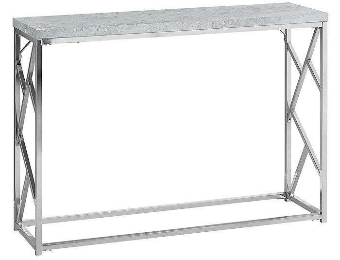 Gigi Grey Console Table, , large