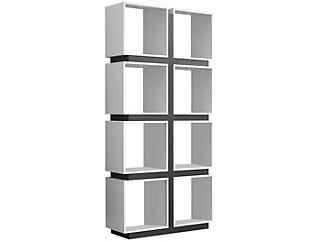 "Penelope 71"" White Bookcase, , large"