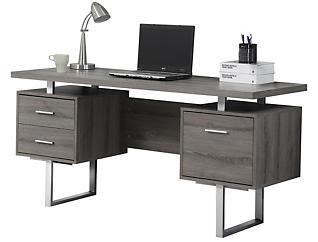 Petunia Taupe Desk, , large