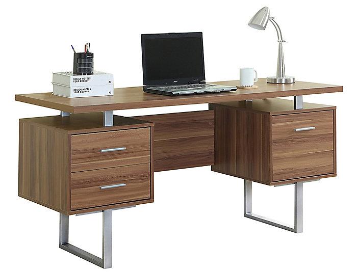 Petunia Walnut Desk, , large