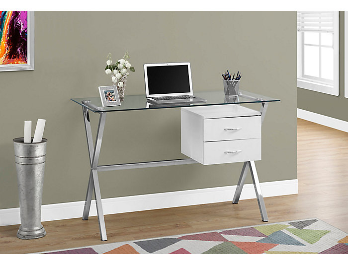 Percy White Desk, , large