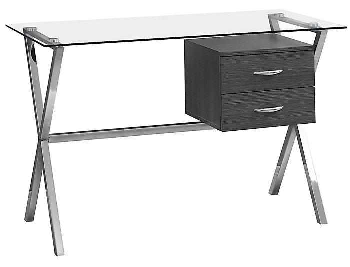 Percy Grey Desk, , large