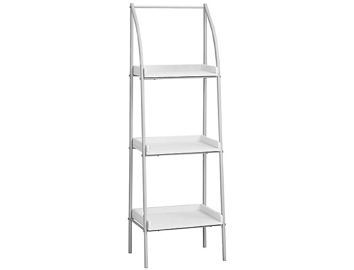 "Tom 48"" White Bookcase, , large"