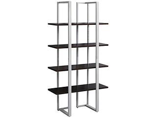 "Bellatrix 60"" Brown Bookcase, , large"