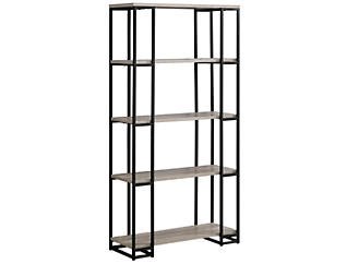 "Ginny 60"" Taupe Bookcase, , large"