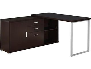 Canon Brown Corner Desk, , large