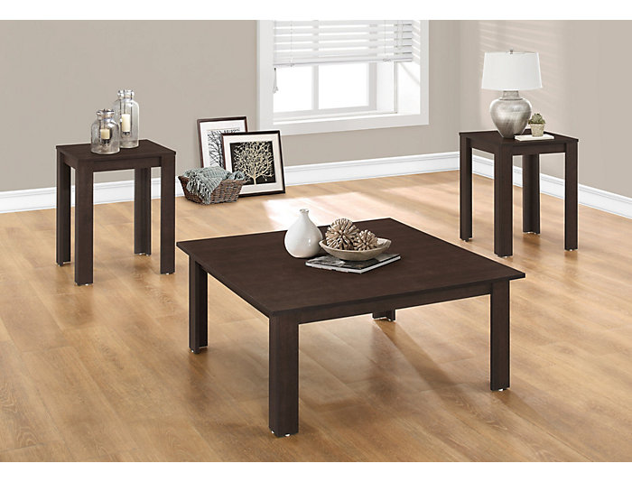 Mack 3 Piece Coffee Table Set, , large