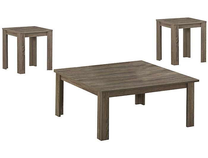 Mason 3 Piece Coffee Table Set, , large