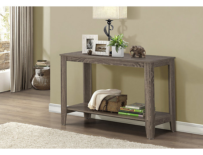 "Erica 44"" Taupe Console Table, , large"