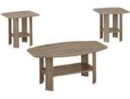 shop Taupe-3-Piece-Coffee-Table-Set