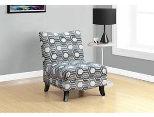 Becky Grey Armless Chair, , large