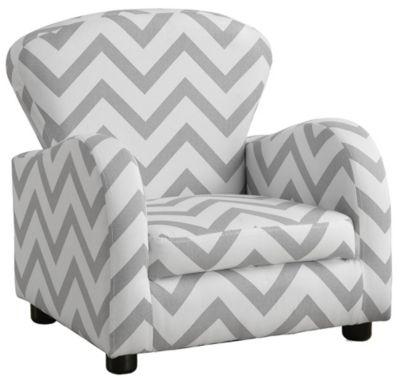 Aiden Kid's Chair, Light Grey, swatch