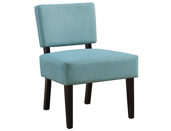 Perle Teal Armless Chair