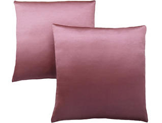 Satin Pink Pillow (Set of 2), , large