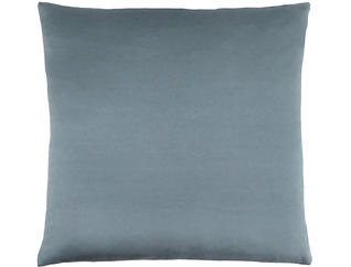 Satin Blue 18x18 Pillow, , large