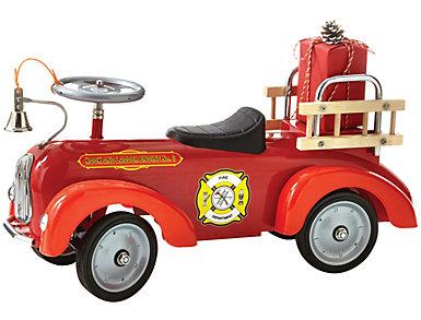 Nostalgic Fire Engine Scooter, , large
