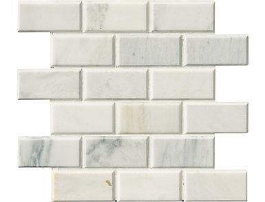 Arabescato Carrara Subway Tile 12 in. x 12 in. Marble Floor and Wall Tile $14.68/ sq. ft (10 sq. ft / case), , large