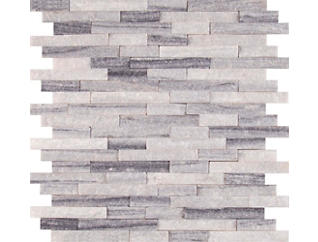 Arabescato Cararra Splitface Pattern Honed 11.93 in. x 12.09 in. Marble Wall Tile $18.48/ sq. ft (10 sq. ft / case), , large