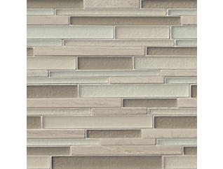 Adara Interlocking 12 in. x 12 in. Glass Wall Tile $17.48/ sq. ft (10 sq. ft / case), , large