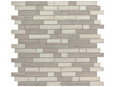 Silva Oak Interlocking Pattern 11.81 in. x 11.81 in. Glass Wall Tile $14.48/ sq. ft (14.55 sq. ft / case), , large