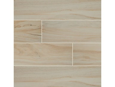 Aspenwood Arctic 9 in. x 48 in. Porcelain Floor and Wall Tile $4.98/ sq. ft (12 sq. ft / case), , large