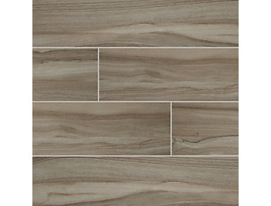 Aspenwood Ash 9 in. x 48 in. Porcelain Floor and Wall Tile $4.98/ sq. ft (12 sq. ft / case), , large