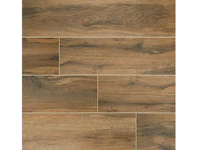 Botanica Cashew 6 in. x 24 in. Porcelain Floor and Wall Tile $2.58/ sq. ft (10 sq. ft / case), , large
