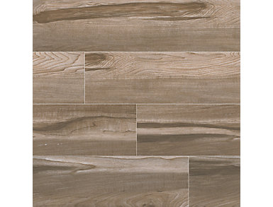 Carolina Timber Beige 6 in. x 24 in. Ceramic Floor and Wall Tile $2.48/ sq. ft (15 sq. ft / case), , large