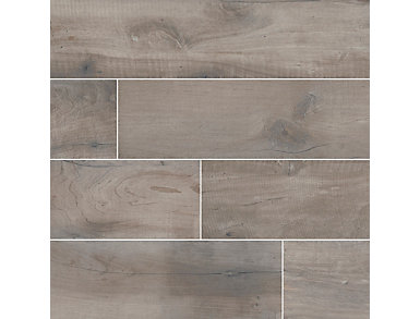 Country River Stone 8 in. x 48 in. Porcelain Floor and Wall Tile $4.88/ sq. ft (10.66 sq. ft / case), , large