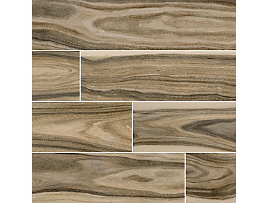 Dellano Deep Bark 8 in. x 48 in. Porcelain Floor and Wall Tile $8.48/ sq. ft (8.01 sq. ft / case), , large