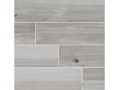 Havenwood Platinum 8 in. x 36 in. Porcelain Floor and Wall Tile $5.18/ sq. ft (14 sq. ft / case), , large