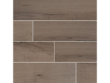 Palmetto Fog 8 in. x 36 in. Porcelain Floor and Wall Tile $4.88/ sq. ft (15 sq. ft / case), , large