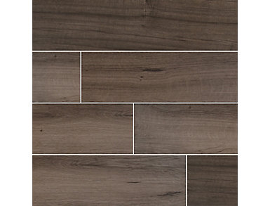 Palmetto Smoke 8 in. x 36 in. Porcelain Floor and Wall Tile $4.88/ sq. ft (15 sq. ft / case), , large