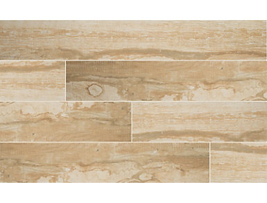 Salvage Honey 8 in. x 40 in. Porcelain Floor and Wall Tile $4.98/ sq. ft (13.28 sq. ft / case), , large