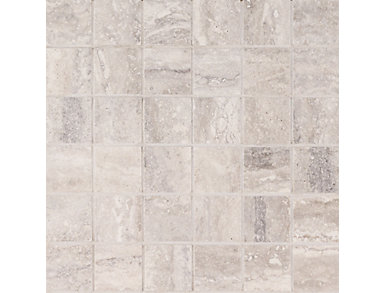 Veneto Gray Mosaic 12 in. x 12 in. Porcelain Floor and Wall Tile $11.98/ sq. ft (8 sq. ft / case), , large