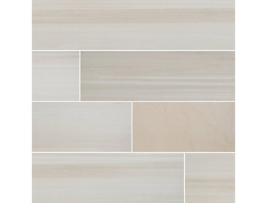 Watercolor Bianco 8 in. x 36 in. Porcelain Floor and Wall Tile $5.28/ sq. ft (13.5 sq. ft / case), , large