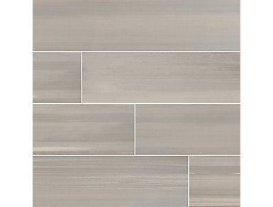 Watercolor Grigio 8 in. x 36 in. Porcelain Floor and Wall Tile $5.28/ sq. ft (13.5 sq. ft / case), , large