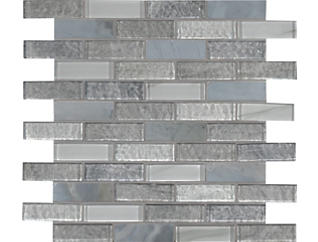 Lupano Glass Stone Blend Mosaic 11.63 in. x 11.72 in. Glass/Stone Wall Tile $15.98/ sq. ft (9.5 sq. ft / case), , large