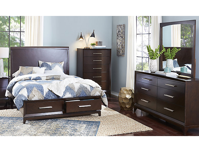 Edge 5 Piece Queen Bedroom Set