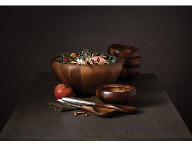 Nambe Yaro Salad Bowls Set/4, , large