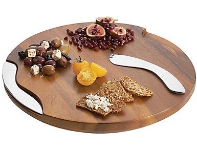 Nambe Cheese Block Board/Tools, , large