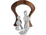 shop Nambe Mini Nativity Scene S/4