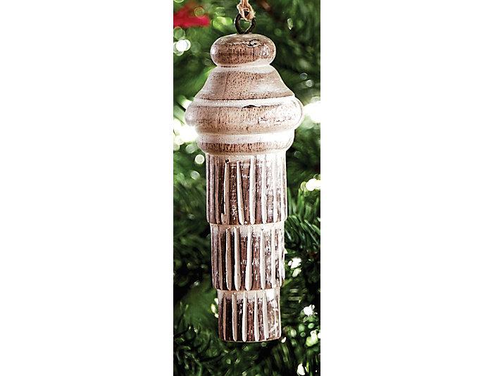 S/4 Wood Tassel Ornaments, , large