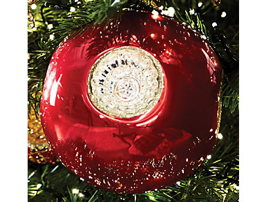 Glass Reflector Ball Ornament, , large
