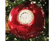 shop Glass Reflector Ball Ornament