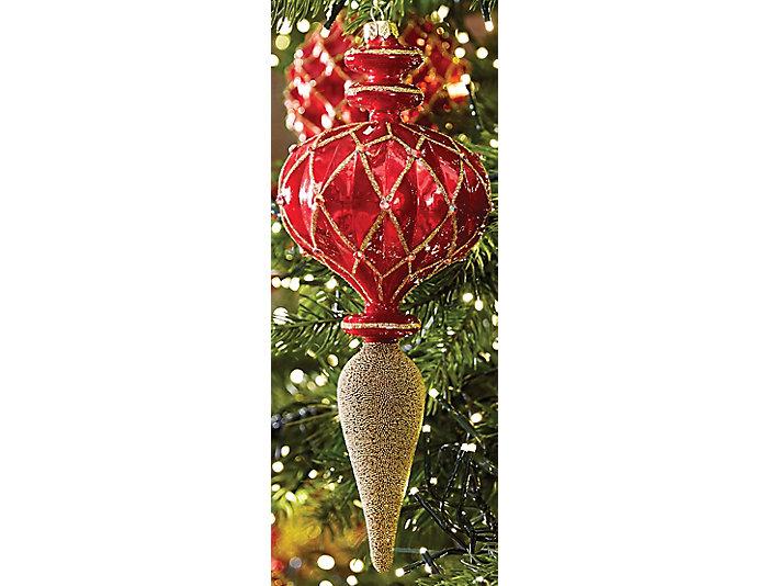 "10"" Prussion Drop Ornament, , large"