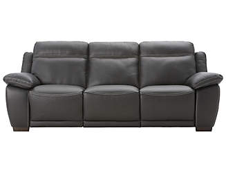 b875 reclining leather sofa