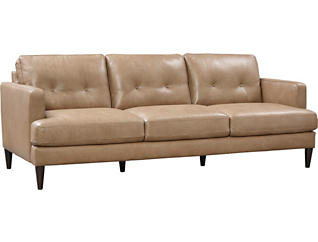 B984 Leather Sofa, , large